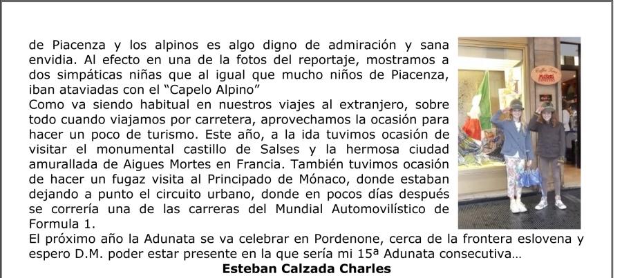 Circular ARTILLEROS-ADUNATA 86-3