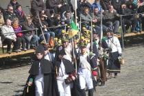 25-Personal con los uniformes del 1º y 88 Regimiento de Línea frances