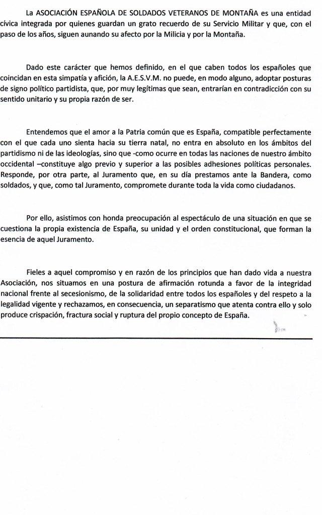 MANIFIESTO DE BARCELONA