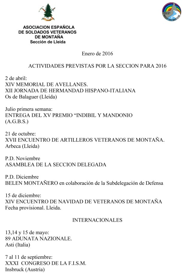 Actividades 2016 AESVM-1
