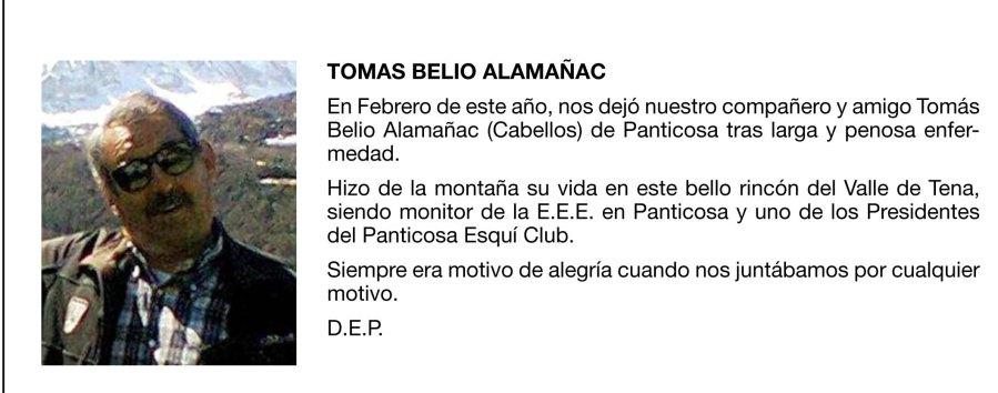 TOMAS BELIO