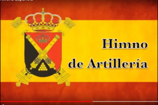 Himno Artilleria