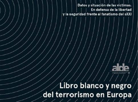 Portada Libro blanco y negro terroriamo europa