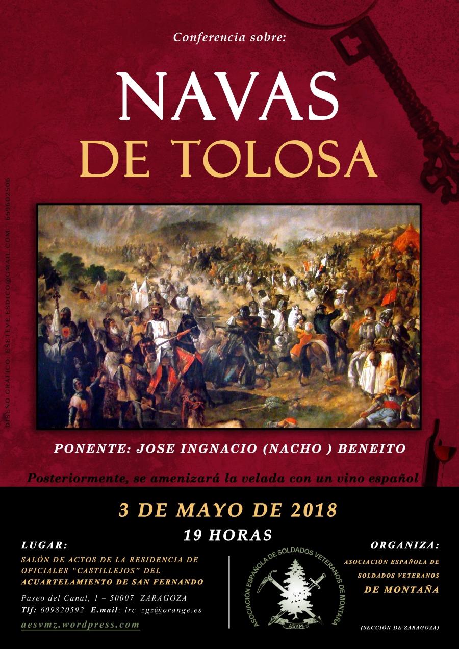 CONFERENCIA BATALLA DE LAS NAVAS DE TOLOSA03DE MAYO 2018