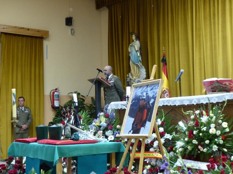 Misa funeral Cte Yarto